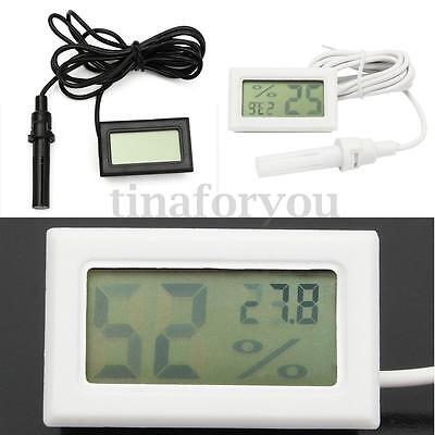LCD Digital Thermometer Hygrometer Humidity Probe for Egg Incubator Poultry