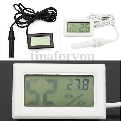 Mini Digital Thermometer Hygrometer Humidity Probe for Egg Incubator Poultry