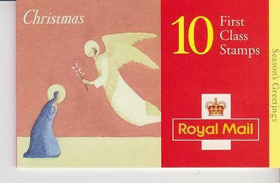 10  1st  CLASS  CHRISTMAS    STAMPS    BOOKLET