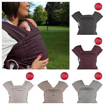Close Parent Caboo Baby Carrier 5 Carry Position Adjustable Organic 5 Colours