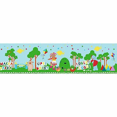 In The Night Garden Self Adhesive Wallpaper Border 5M Wall Decor New Free P+P