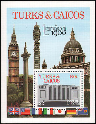 Turks and Caicos Islands #433 MNH VF s/s