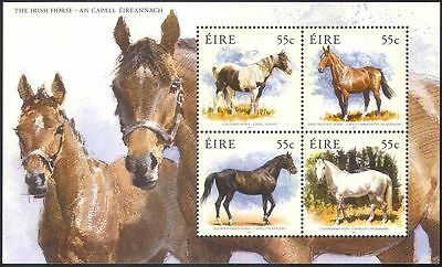 Ireland 2012 Horses/Ponies/Working Animals/Nature/Transport 4v m/s (n41498)