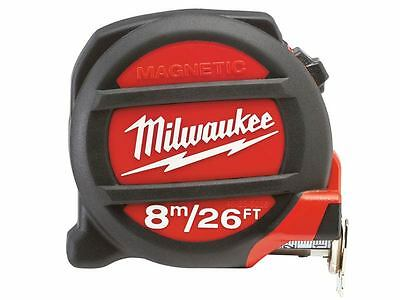 Milwaukee 48225225 8m / 26ft Metric + Imperial Tape Measure Magnetic Tip