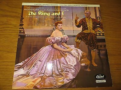 Vintage Record Album Lp The King And I