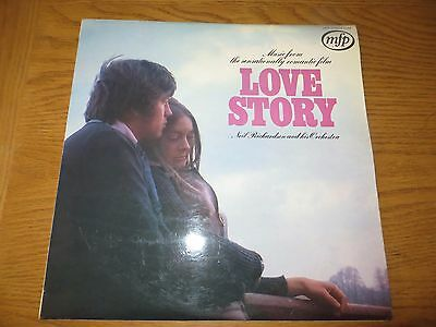 Vintage Record Album Lp Music From Love Story