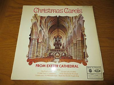 Vintage Record Album Lp Christmas Carols From Exeter Cathedral