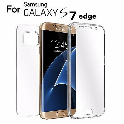 Shockproof 360° Protective Crystal Gel Phone Case Cover Samsung Galaxy S7edge A