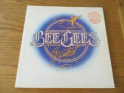 Vintage Record Album Lp  Bee Gees Double Greatest Hits 1970's