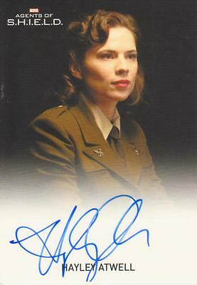 Agents of SHIELD 2 - pack inserted Autograph Card signed  by Hayley Atwell