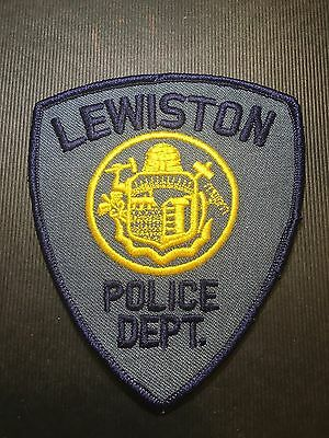 Lewiston Maine Police  Shoulder Patch