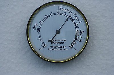 Hygrometer 54mm diameter available in a choice of dial.