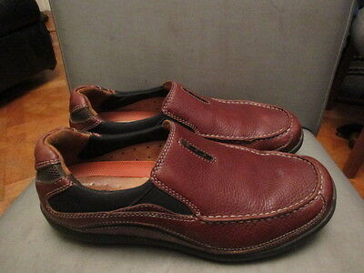 Brown leather shoes size uk 6 by Clarks