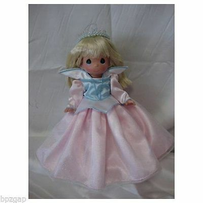 Precious Moments Disney Precious In Pink Sleeping Beauty Doll #5214