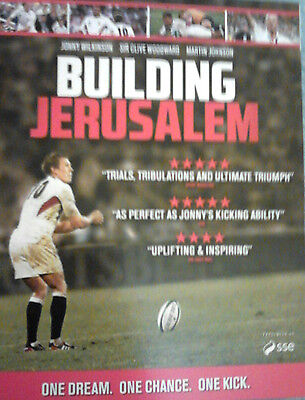 BUILDING JERUSALEM - ENGLAND's 2003 RUGBY WORLD CUP WIN - NEW / SEALED BLU-RAY
