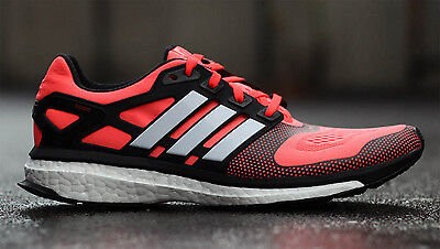 adidas energy boost uk 10.5 running shoes boxed worn twice