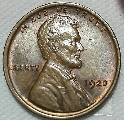 1920 AU Lincoln Cent - will combine shipping