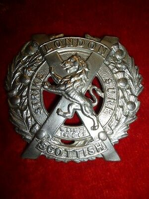 The London Scottish Regiment Cap Badge