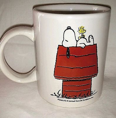 Peanuts Snoopy Snoring on Doghouse Coffee Mug - Peanuts United Feature Artists
