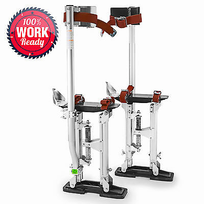 """OPEN BOX - Drywall Painters Walking Stilts Taping Tools - Adjustable 15"""" - 23"""""""