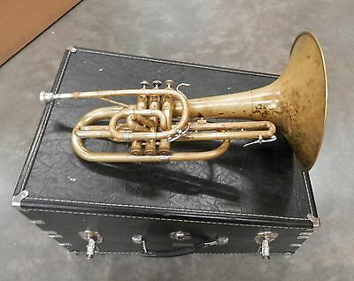 Mercedes Bach Marching F Mellophone !NORESERVE!!