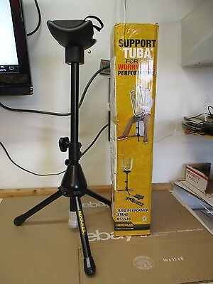 Hercules Ds553B Tuba Performer Stand    Fast/free Shipping