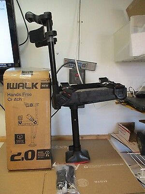 iWALK FREE 2.0 HANDS FREE KNEE CRUTCH FOR PARTS OR REPAIR MISSING PIECES
