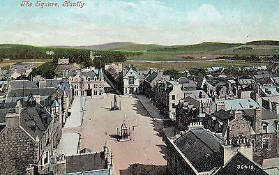 Aberdeenshire  - Huntly - The Square