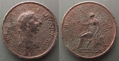 0050 Great Britain George Iii Penny 1807