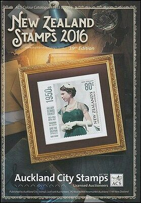 New Zealand Acs Stamp Catalogue 2016 Latest In Colour (Id:lit488)