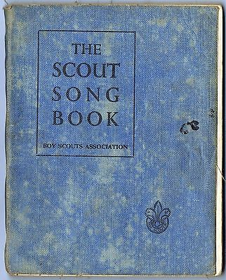 Vintage 1952: The Scout Song Book: Boy Scouts Association