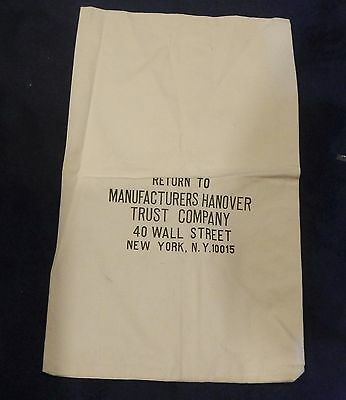 Huge unused Canvas Bank Bank, Wall Street Decorator Ideas?