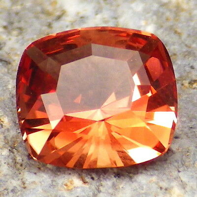 """PADPARADSCHA"" SCHILLER OREGON SUNSTONE 1.50Ct FLAWLESS-FOR BEAUTIFUL JEWELRY!"