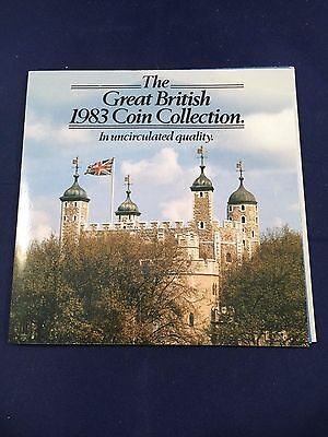 The Great British 1983 Coin Collection – Uncirculated