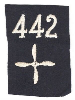 Army Patch: Enlisted Aviator (Pilot), 442nd Aero Squadron - WWI