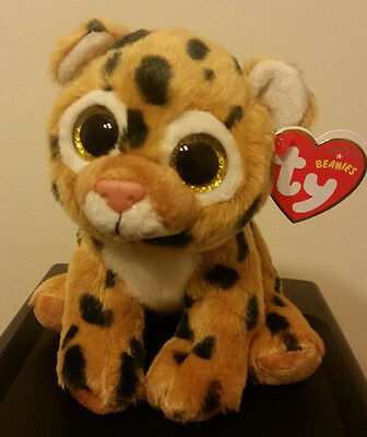 Ty Beanie Baby ~ FRECKLES the Leopard ~ MINT with MINT TAGS ~ 2015 NEW ~ IN HAND