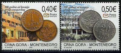037 MONTENEGRO 2006 - Coins - 100th Anniversary of Perper - MNH Set
