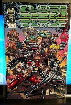 Cyber Force # 1 Image Comic Book 1992