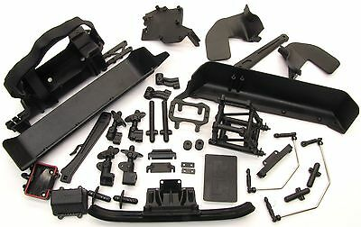 Arrma OUTCAST 6s BLX - Side Guards, Battery Receiver Tray, Roll Tower AR106021