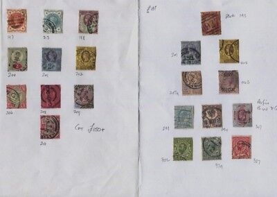 GB QV / EDVII Duplicated Used Accumulation Values to 1/- Nice Variety CV $980+