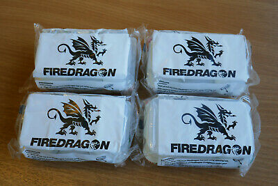 NEW - BULK BUY - FOUR x Packs of 6 Fire Dragon BCB Cooking Fuel Tablets Blocks