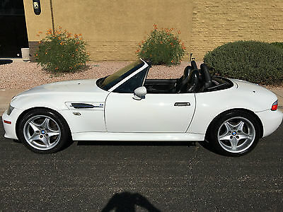 2000 BMW M Roadster & Coupe Z3 M Roadster 3.2L 2000 BMW M ROADSTER ALPINE WHITE NEW TOP SUPER CLEAN!
