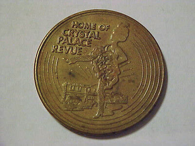 """Front Street Good Luck Token """"Home Of The Crystal Palace Revue"""" -- Ogallala, NE"""