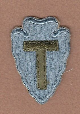 Army Patch: 36th Infantry Division, cut edge, WWII era