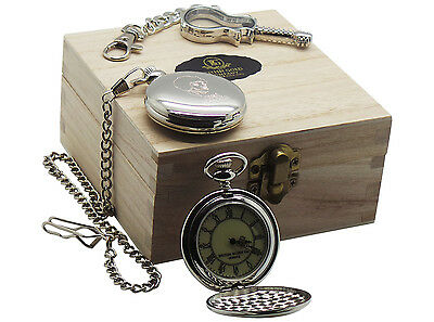 JIMI HENDRIX POCKET WATCH and GLASS GUITAR Keyring LUXURY COLLECTORS GIFT SET