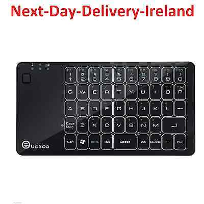 2.4GHz USB Wireless Black Keyboard Keypad Air Mouse for Android & Windows TV