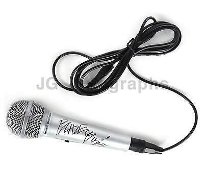 Blaze Bayley - Iron Maiden Singer - Authentic Autographed Microphone
