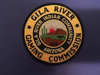 Gila River Indian Community Arizona Gaming Commission  Patch