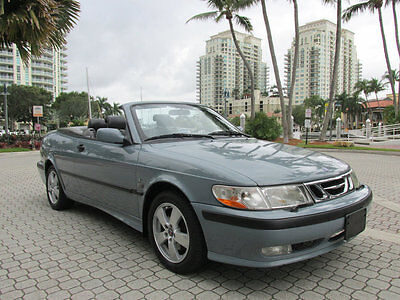 2003 Saab 9-3 2dr Convertible SE CONVERTIBLE TURBO POWER AUTOMATIC POWER TOP LEATHER ON STAR LOW MILES