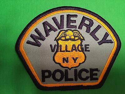 Waverly Village New York  Police  Shoulder Patch
